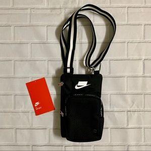 New Nike Sport Small Items Crossbody Bag Black OS